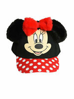 Officially Licensed Minnie Mouse Girls Toddler Baseball Cap Hat Ears Black