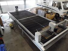 Neue CNC Plasmaschneidanlage Sonderbau 2 mal 6 Meter Anlage 85 Ampere