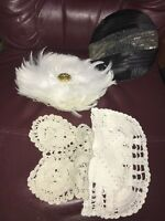 Vintage Womens Hats And Linens