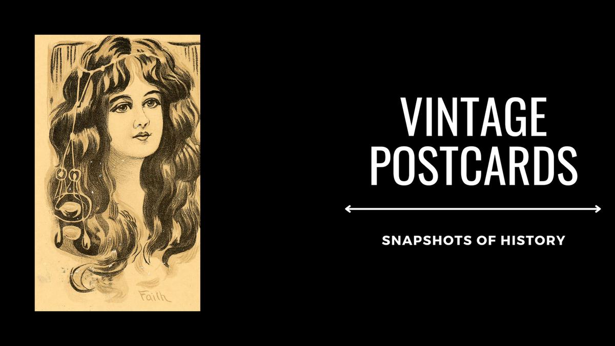 Vintage Postcards and Ephemera