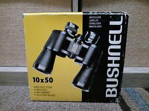 Bushnell Binocular 10x50  288ft at 1000 yds  5.5 Degree.NEVER USED.