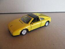 777G Maisto Shell Ferrari 348TS Jaune 1:38