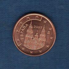 Espagne - 2007 - 5 centimes d'euro - Pièce neuve de rouleau -