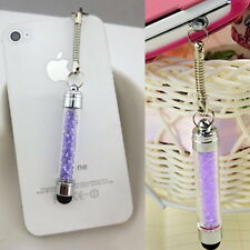 Mini Attractive Crystal Diamond Bling Touch Screen Stylus Pen For iPhone PB