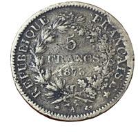 #4012 - RARE - 5 francs 1873 A Hercule Faux d'époque - FACTURE
