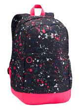NWT Under Armour UA Girls Favorite Backpack School Laptop Bag BLACK & MULTI