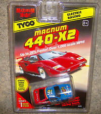 """NEW"" TYCO #16 FAMILY CHANNEL 440X2 HO SLOT CAR"