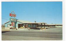 Crossroads Motel US 54 380 Carrizozo New Mexico postcard