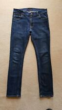 "NUDIE  ....FINN SLIM LEG STRETCH JEANS  Size 31/ 32"" leg   EXCELLENT CONDITION"