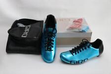 New Giro Empire ACC Road Bike Shoes 42 9 EC90 Carbon Blue Steel Black Men's