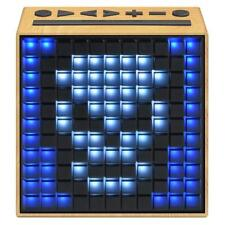 Divoom Timebox Bluetooth Speaker With LED Lights and Clock Ivory