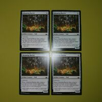 Gleaming Barrier x4 Rivals of Ixalan 4x Playset Magic the Gathering MTG
