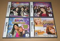 Lot of 4 Nintendo DS Games / All Brand New / Fast Shipping