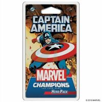 Asmodee - Marvel Champions LCG: Captain America Hero Pack Sealed In Stock