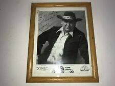 18A Dave Dudley with Autograph picture frames.