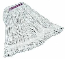 Rubbermaid Fgd11306wh00 Super Stitch(R) 4-Ply Cotton Yarn Wet Mop, Looped,
