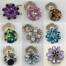Markenlose Modeschmuckstücke aus gemischten Metallen mit Strass-Perlen für Damen