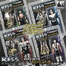 """KISS 12"""" Action Figures Series 4 Monster Set Of All Four Figures MINT Condition"""