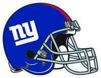 NEW YORK GIANTS HELMET Vinyl Decal / Sticker ** 5 Sizes **
