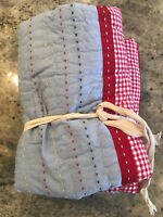 Pottery Barn Kids Dr Suess Quilted Euro Sham NEW