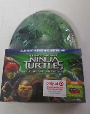 Teenage Mutant Ninja Turtles Out Of The Shadows Blu-Ray DVD Steelbook NEW