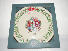 Letter To Santa Lenox 1996 Annual Holiday Collector's Ltd Ed Plate #6 - Mib