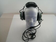 David Clark Refurbished General Aviation Headset H10-60 Dual Plug Padded Headban