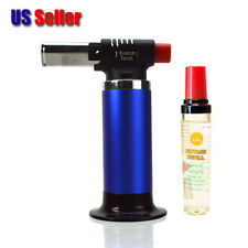 New Jet scorch Torch Lighter Heavy Duty up to 2500 F degrees + FREE BUTANE