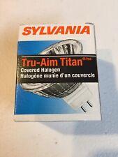 Sylvania 58303 - 35MR16/T/SP10/FRB/C 12V Light Bulb Covered Halogen Tru-aim
