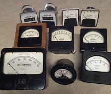 Vintage AC/DC And Hour Meters Burlington, Simpson, Weston, Sun, GE