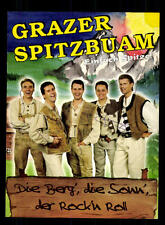 Grazer Spitzbuam Autogrammkarte Original Signiert ## BC 95866