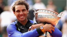 Nike Rafa Nadal Premier Jacket - French Open 2017 - La Decima! Adult L