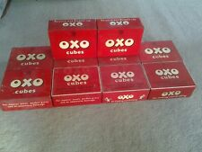 More details for vintage oxo cube tins