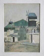 Maurice Utrillo, WIndmills, Poster