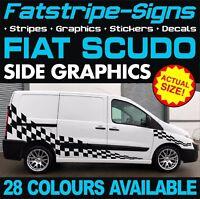FIAT SCUDO GRAPHICS STICKERS STRIPES DECALS CREW CAB DAY VAN CAMPER RACE MX D