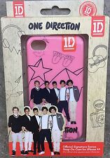 Rare Official One Direction 1d Fan Iphone 4 4s Snap-On Cover Case
