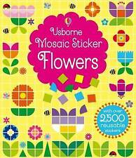 Mosaic Sticker Flowers (Sticker Book), Kirsteen Robson, New condition, Book