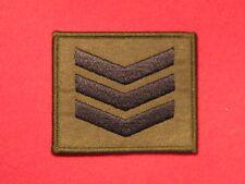 BRITISH ARMY SGT SERGEANT RANK BADGE CHEVRON OG NEW