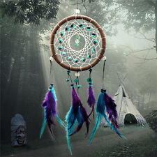 Dream Catcher Feathers Core Bead Dreamcatcher Home Wall Car Decoration TO
