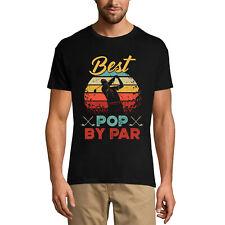 ULTRABASIC Homme T-shirt Best Pop By Par - Meilleur papa - Jouer au golf