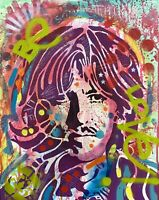 Dean Russo Art Original Artwork George Harrison The Beatles Music Portrait Art