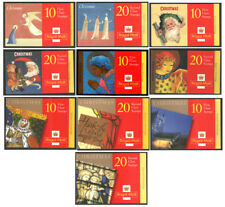 LX11 to LX20 Christmas Cylinder Booklets unmounted mint. Each sold separately.