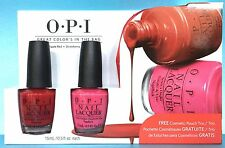 Opi Great Color'S In The Bag 2pc Nail Polish Set + Free Purses Srga4 N25 M23 New
