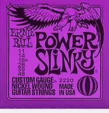 ERNIE Ball Potenza Slinky le corde per chitarra elettrica 11-48 (NUOVO)