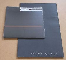 ILIKETRAINS Spencer Perceval UK 2-track CD single SEALED + poster I LIKE TRAINS