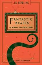 FANTASTIC BEASTS & WHERE TO FIND THEM~NEWT SCAMANDER~J.K. ROWLING~HARDBACK