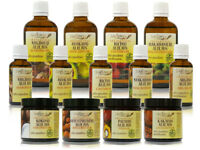 100% PURE ORGANIC VIRGIN CARRIER OILS | Unrefined | Cold pressed
