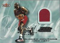 2000-01 Fleer Feel the Game #23 Alonzo Mourning Jersey - NM-MT