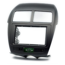 Mitsubishi ASX Double 2 Din Car radio fascia dash panel facia kit trim