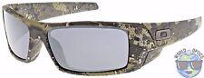 Oakley Gascan Sunglasses OO9014-12 Desolve Bare Camo   Black Iridium Lens   BNIB